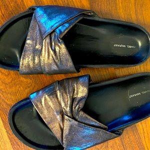 Isabel Marant - copper sandals - size 36 -$59